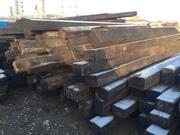 Шпалы старогоднии деревянные 1 и 2 типа